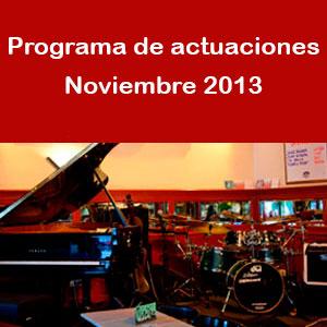 Programa noviembre