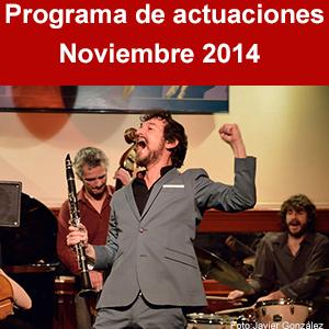 Programa Noviembre 2014