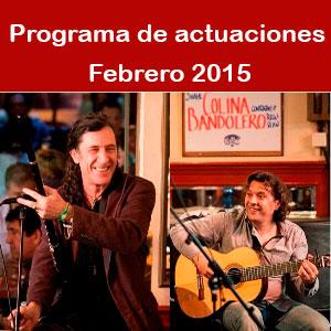 Programa Febrero 2015