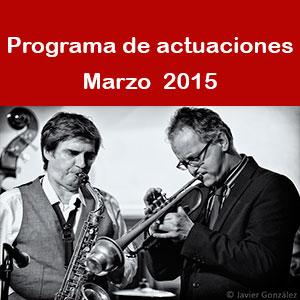 Programa Marzo 2015