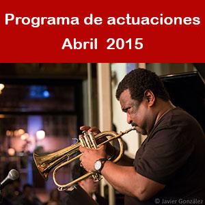 Programa Abril 2015