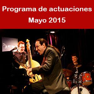 Programa Mayo 2015