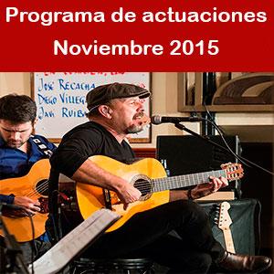 Programa Noviembre 2015