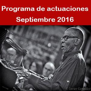 Programa Septiembre 2016