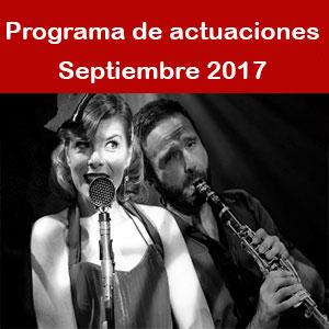 Programa Septiembre 2017