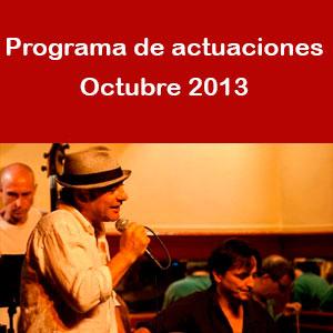Programa octubre