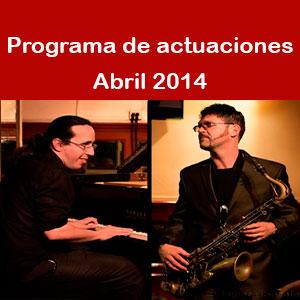 Programa Abril 2014