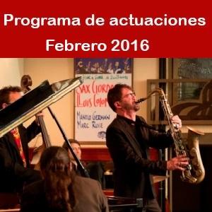 Programa Febrero 2016