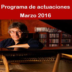 Programa Marzo 2016