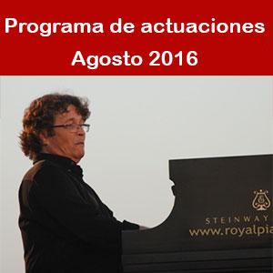 Programa Agosto 2016