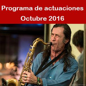Programa Octubre 2016