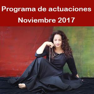 Programa Noviembre 2017